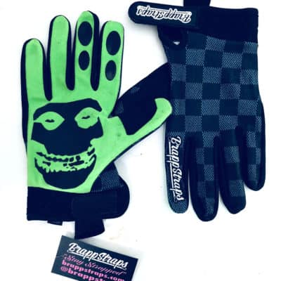 Zeitgeist Green MX Gloves