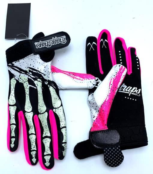 Pink Strangler MX Glove by Brapp Straps