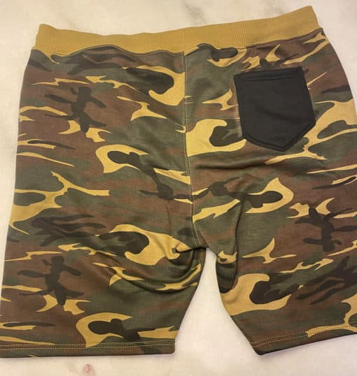 Stay Strapped, Get Clapped Shorts by Brapp Straps