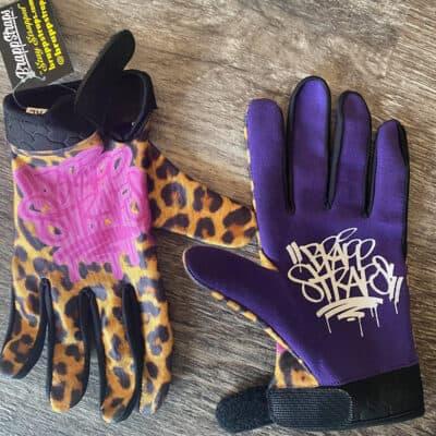 Deaf Leopard MX Gloves by Brapp Straps